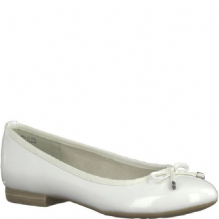 Marco Tozzi 2-2-22137-30 123 White Patent Womens Shoes